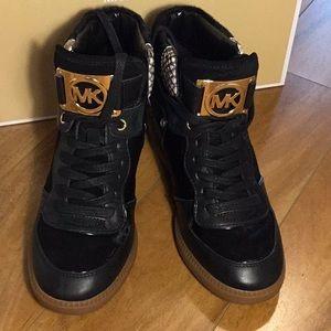 Michael Kors  Nikko High-Top Calf Hair Sneaker